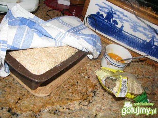 Chleb owsiano-orkiszowy, na drożdżach