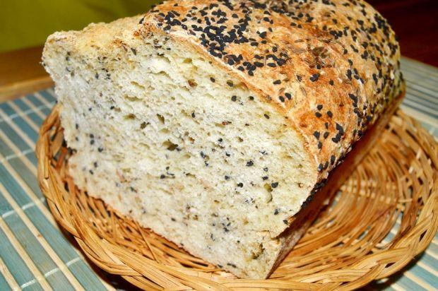 Chleb owsiany z kminkiem i czarnuszką