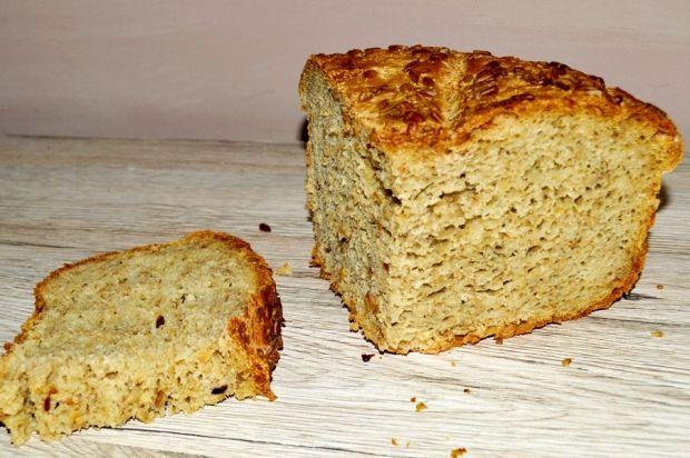 Chleb z płatkami i otrębami owsianymi