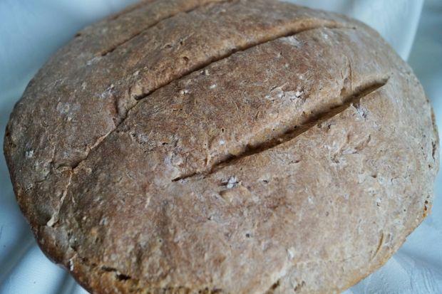 Chleb z płatkami owsianymi na zakwasie pszennym