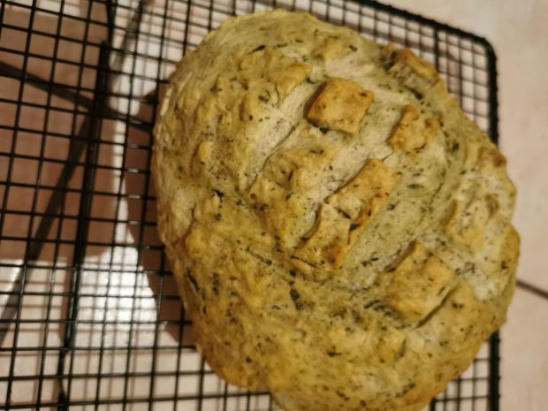 Chleb z rukolą