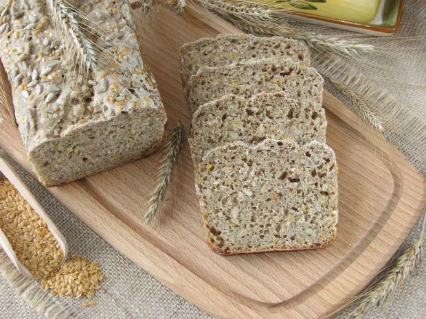 Chleb żytni na zakwasie z złotym lnem