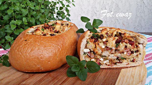 Chlebowa zapiekanka po wiejsku