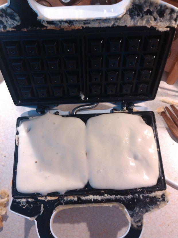 Chrupiące gofry