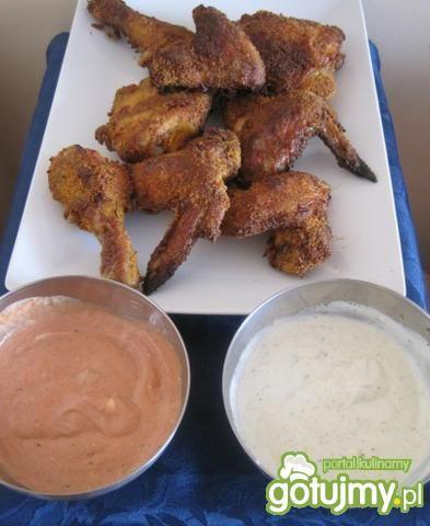 Chrupiące kąski kurczaka z dipami