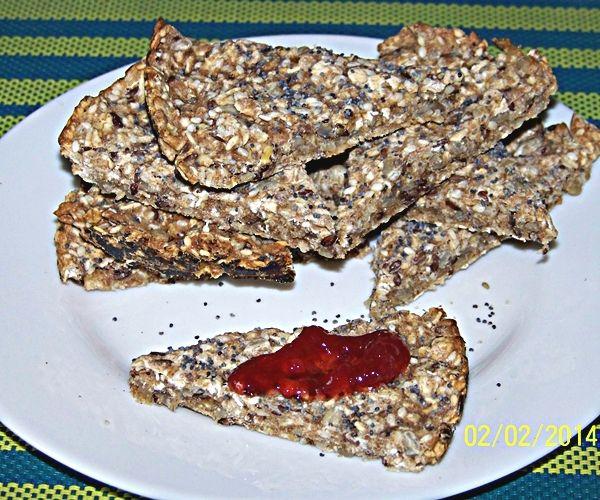 Chrupki chleb skandynawski