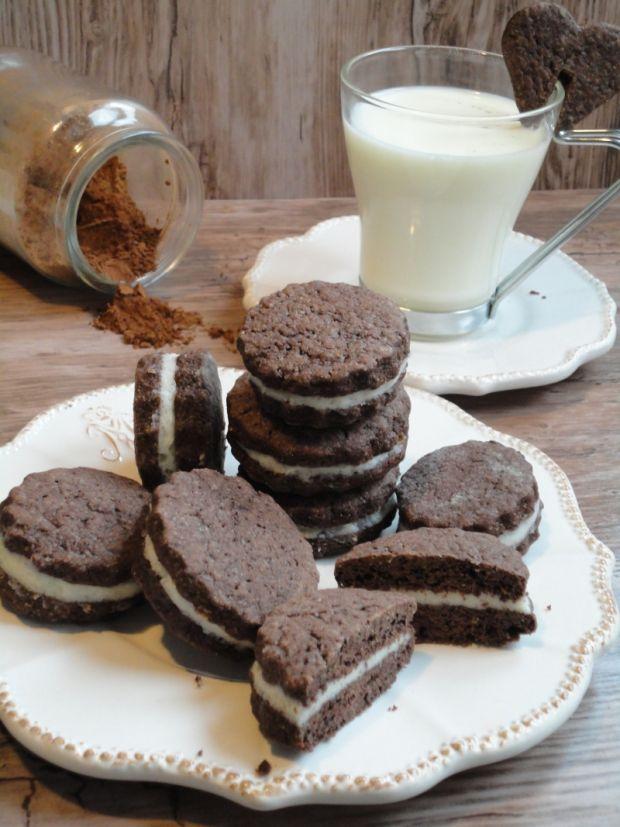 Ciasteczka a'la Oreo