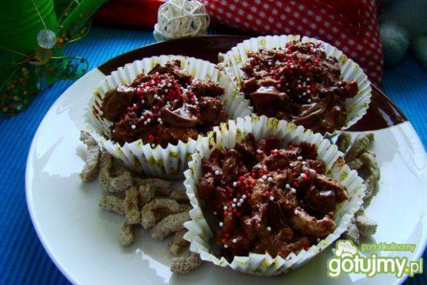 Ciasteczka czekoladowe z błonnikiem