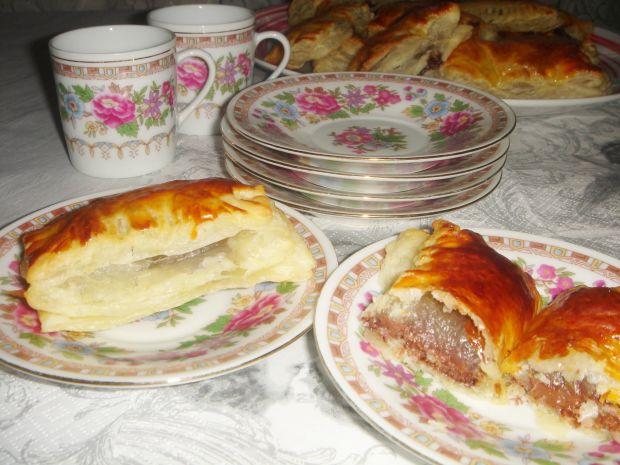 Ciasteczka francuskie z czekoladą i kokosem