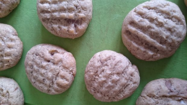 Ciasteczka gryczane 2 czekolady