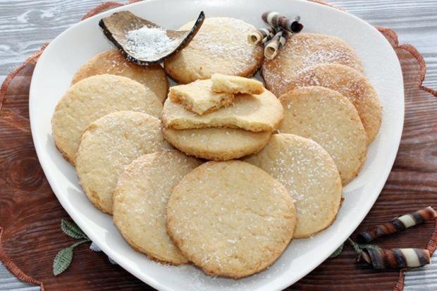 Ciasteczka kokosowe z cukrem