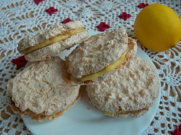 Ciasteczka kokosowe z lemon curd
