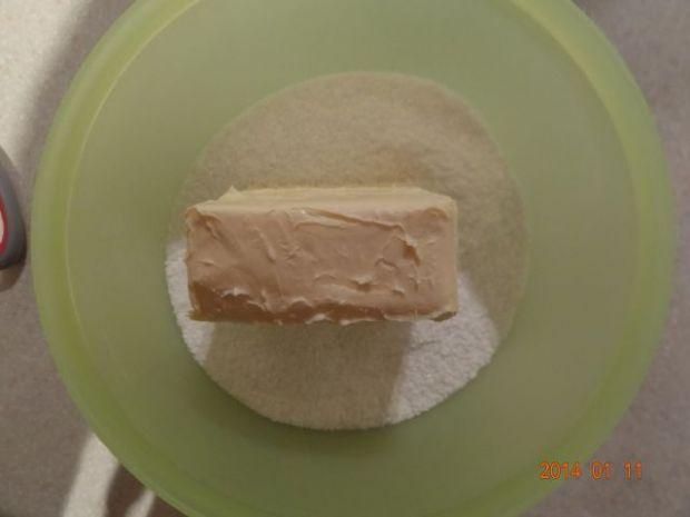 Ciasteczka kokosowo - ryżowe z mandarynką