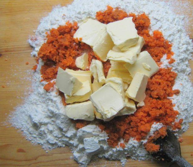 Ciasteczka marchewkowe- bez jaj i cukru