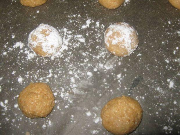 Ciasteczka orzechowe, bezglutenowe