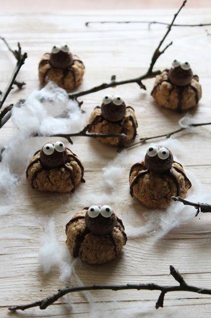 Ciasteczka pajączki