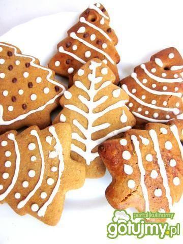 Ciasteczka piernikowe z migdałami