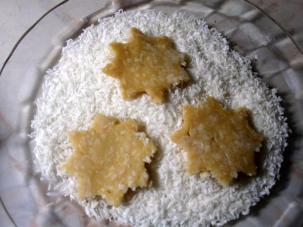 Ciasteczka potrójnie kokosowe
