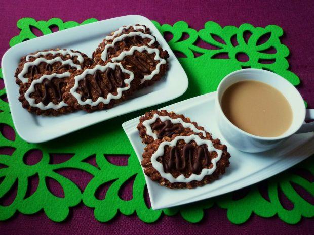 Ciasteczka śniadaniowe z orzechami