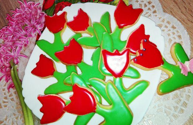 Ciasteczka tulipany