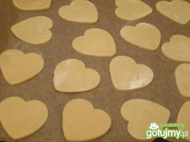 Ciasteczka walentynkowe z lukrem