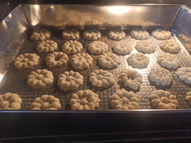 Ciasteczka wyciskane z maszynki