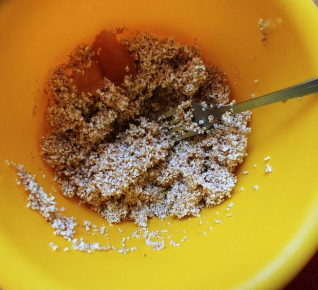 Ciasteczka z amarantusem i jabłkiem