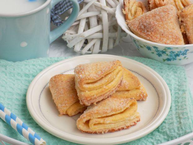 Ciasteczka z cukrem ,,gęsie łapki''