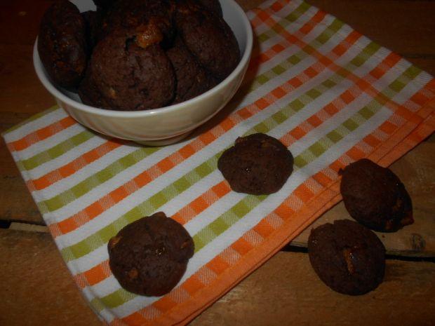 Ciasteczka z kaszą jaglaną i czekoladą