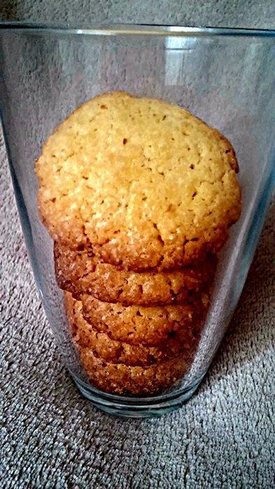 Ciasteczka z krupczatki i mąki kukurydzianej