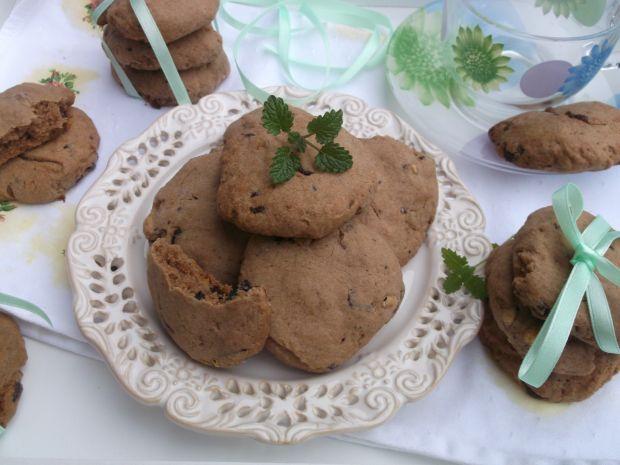 Ciasteczka z miętową czekoladą