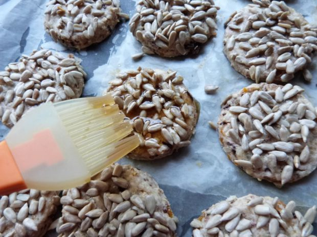 Ciasteczka z musli i słonecznikiem