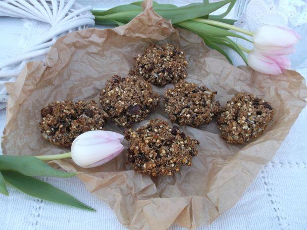 Ciasteczka z otrębów pszennych z bakaliami