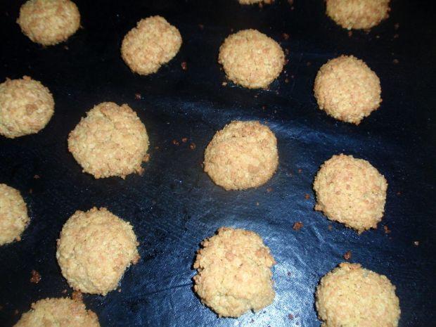 Ciasteczka z płatków jaglanych.