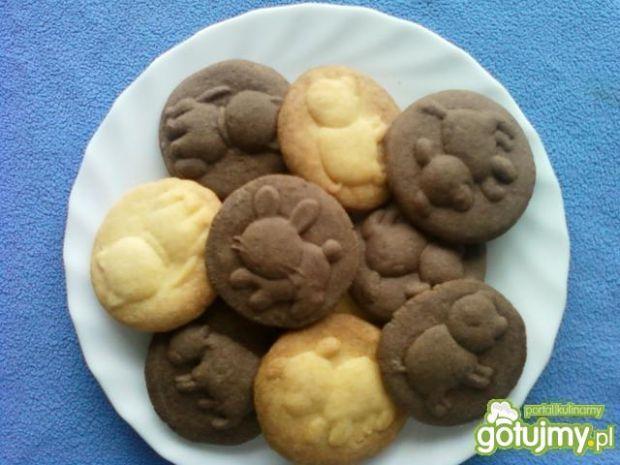 Ciasteczka z różnymi wzorkami