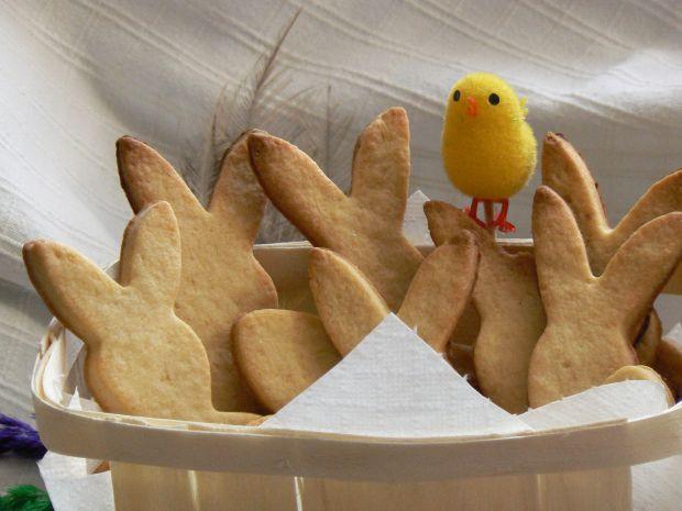 Ciasteczka kruche zajączki