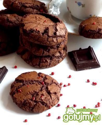 Ciastka czekoladowe z czerwonym pieprzem
