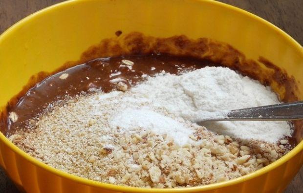 Ciastka czekoladowe z płatkami owsianymi