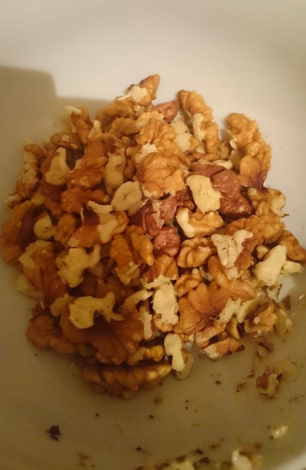 Ciastka kokosowo-owsiane z orzechami włoskimi