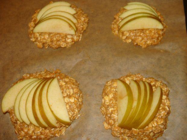 Ciastka owsiane z jabłkami