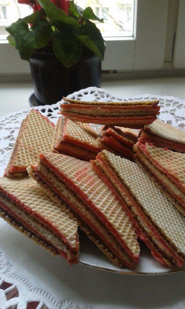 Ciastka z wafli tortowych