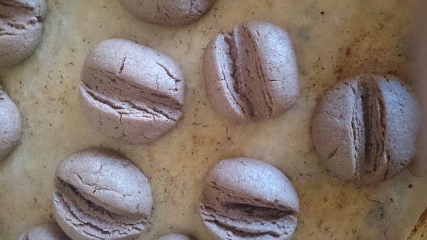 """Ciastka """"Ziarna kawy"""" (czekoladowo-kawowe)"""