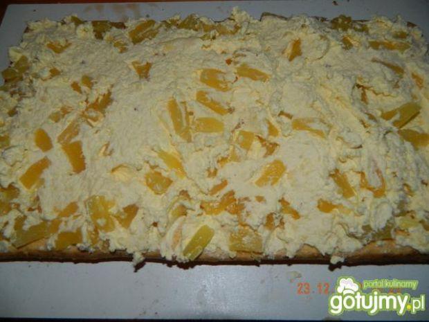 Ciasto ananasowe wg bietki