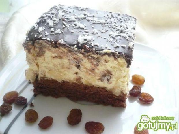Ciasto bakaliowe z czekoladą