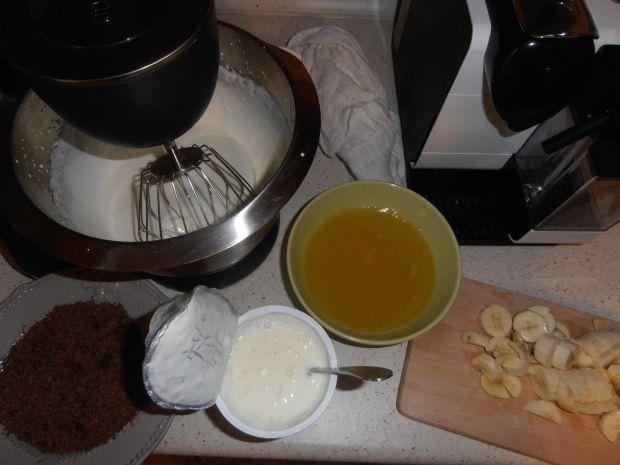 Ciasto bananowa straciatella