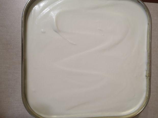 Ciasto bez pieczenia  Jagodowy Miętusek