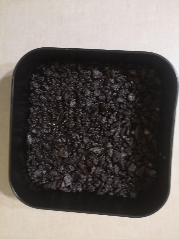 Ciasto  bez pieczenia Oreo Smerfetki