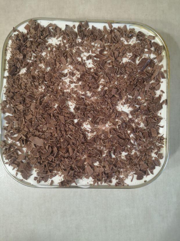 Ciasto bez pieczenia  Słodki Prezes