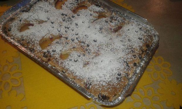 Ciasto bezproszkowe w innej wersji z porzeczkami