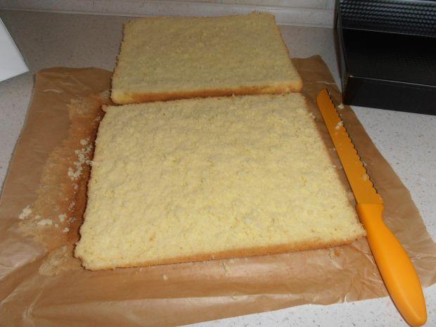 Ciasto Biały puszek
